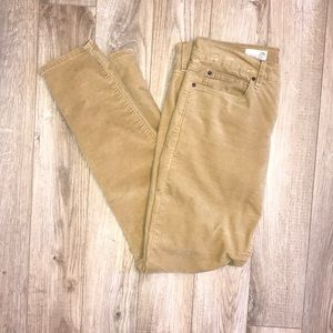 Corduroy legging jean